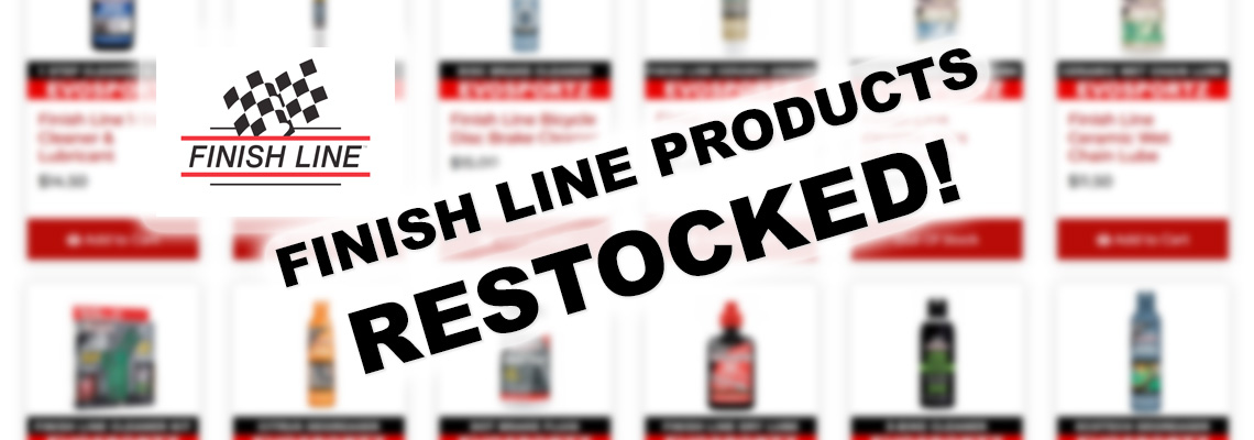 Finish Line Restocked