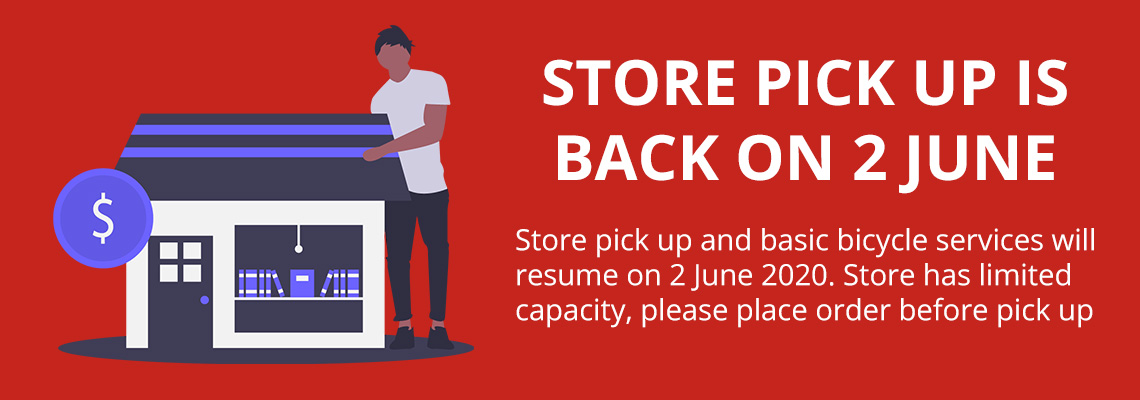 Store pick up is back on 2 June