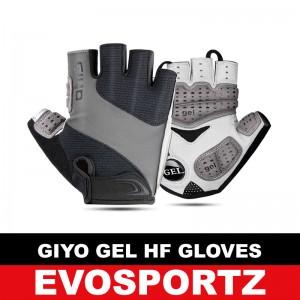 Giyo Gel Half Finger Gloves S-10G
