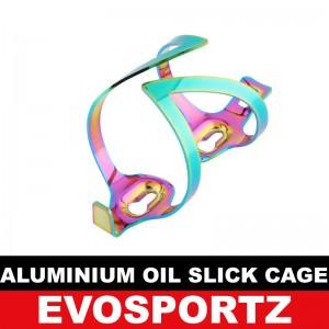 Aluminium Oil Slick Bottle Cage