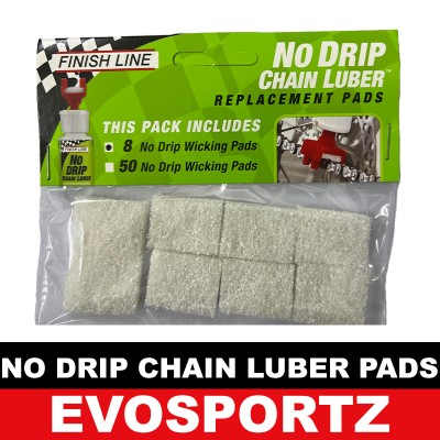 Finish Line No Drip Chain Luber Replacement Pads
