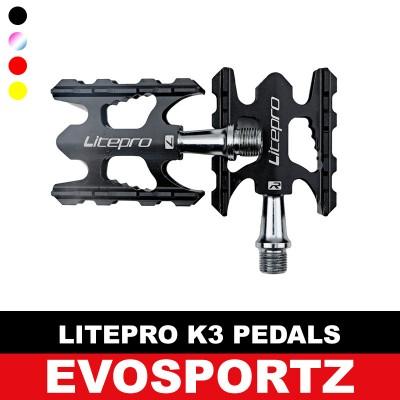 Litepro K3 Aluminium Pedals