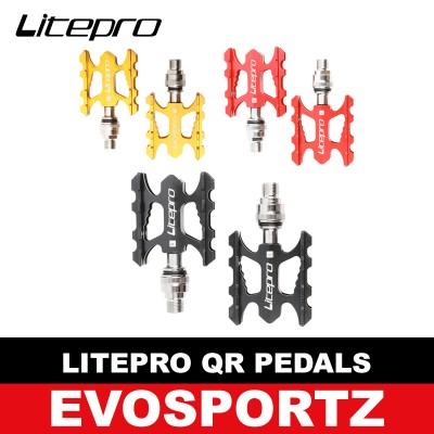 Litepro Quick Release Pedals