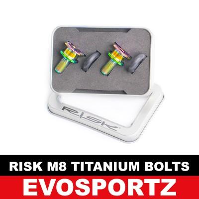Risk M8 x 15 Titanium Bolts (2 Pieces Box)