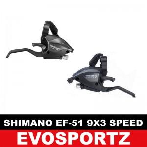 Shimano EF51 9x3 Speed Shifter Set
