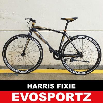 Harris Fixie 2703 (Black-Gold) (Gold)