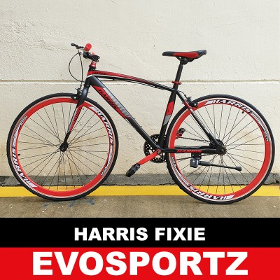 Harris Fixie 2703 (Black-Red) (Red)