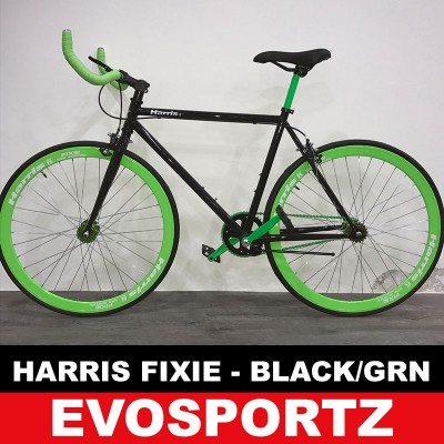 Harris Fixie (Black-Green) (Green)