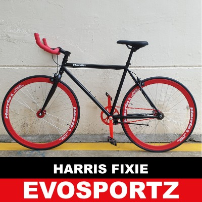 Harris Fixie (Black-Red) (Red)