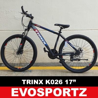 "Trinx K026 Mountain Bike (17"" Black-Red-Blue) (As Seen)"
