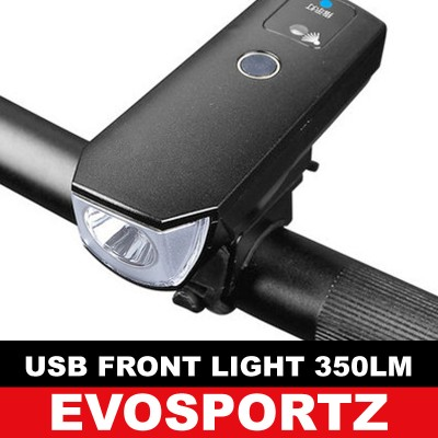 USB Front Light 350 Lumens