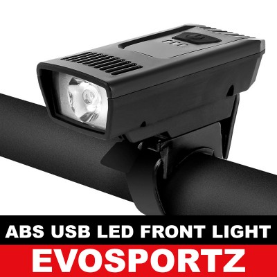 Bicycle ABS USB Led Front Light