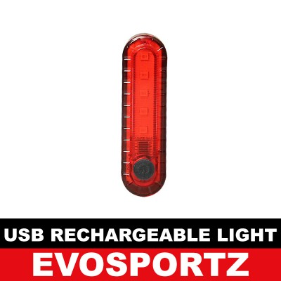 USB Rechargeable Rear Light (056)