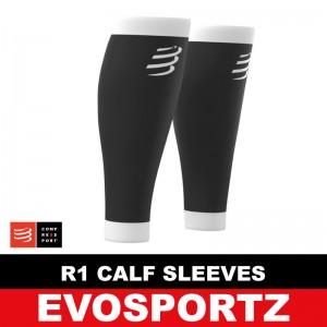 Compressport R1 Calf Sleeves (Black)