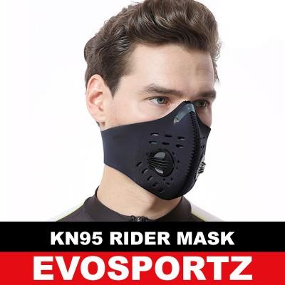 KN95 Velcro Rider Mask