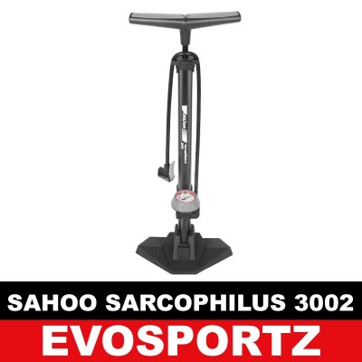 Sahoo Bicycle Air Pump Sarchophilus (Pressure Gauge)