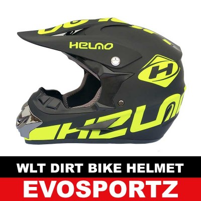 WLT Dirt Bike Helmet (Green)
