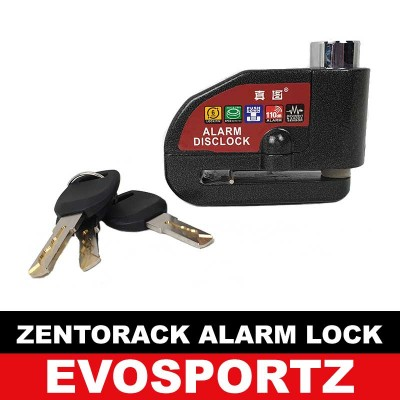 ZentoRack Alarm Disc Brake Lock