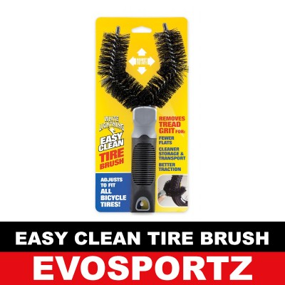 White Lightning Easy Clean Tire Brush