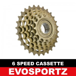 Bicycle Cassette (6 Speed)