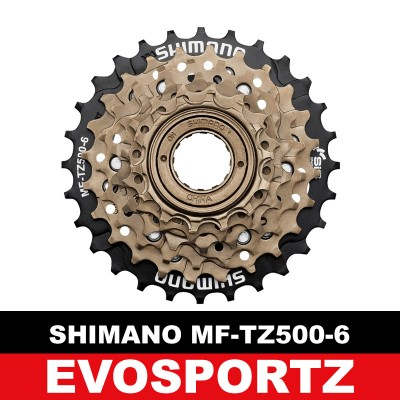 Shimano MF-TZ500 6 Speed Freewheel