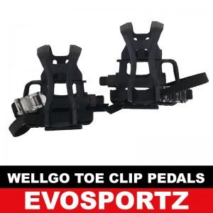 Wellgo Toe Clip Pedals