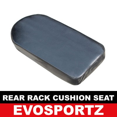 Rear Rack Cushion Seat (Black)