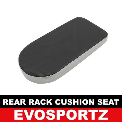 Rear Rack Cushion Seat (Silver)