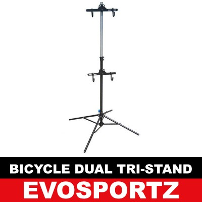 Bicycle Dual Tri Stand