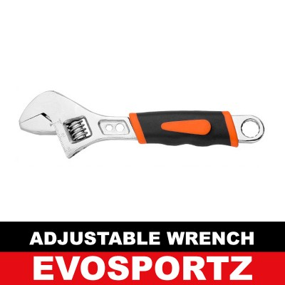 Greener Adjustable Wrench (Rubber Grip 160mm)