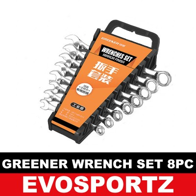 Greener Wrench Set (8 Pieces)