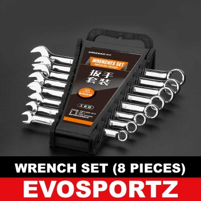 Wrench Set (8 Pieces)