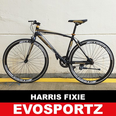 Harris Fixie 2703 (Black-Gold)