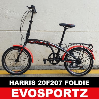 Harris Folding Bike 20F207 (Red)