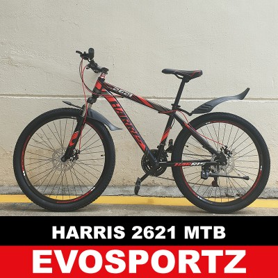 Harris 2621 Mountain Bike (Black-Red)