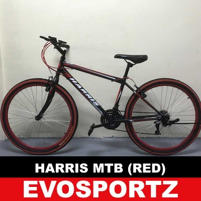 Harris Mountain Bike 2626 (Black-Red)