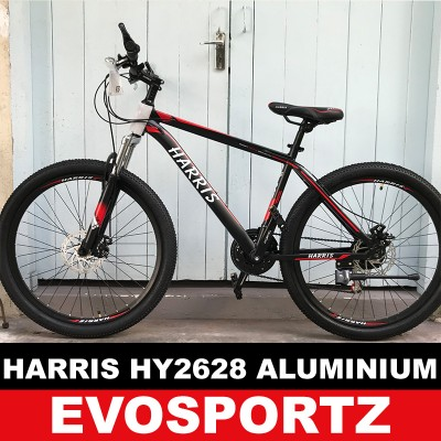 Harris HY2628 Aluminium Suspension Mountain Bike (Red)