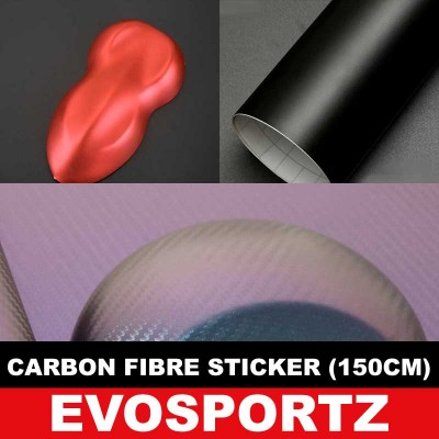 Carbon Fibre Sticker (150cm)