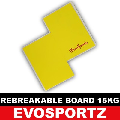 EvoSportz Taekwondo Rebreakable Board (15KG)