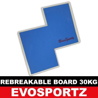 EvoSportz Taekwondo Rebreakable Board (30KG)