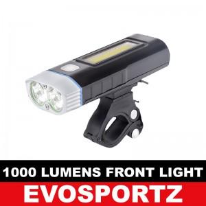 1000 Lumens USB Front Light