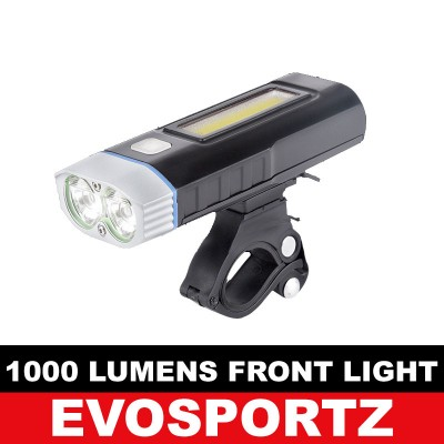 1000 Lumens USB Front Light