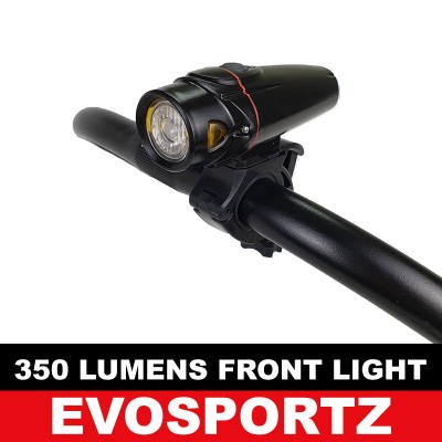 350 Lumens USB Front Light