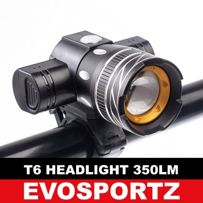 T6 Headlight 350 Lumens