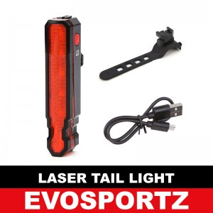 Laser Bicycle Tail Light (USB)