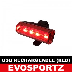 USB Rechargeable Light (Red)